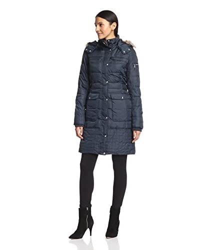 Sam Edelman Women's Nicole Down Jacket with Faux Fur