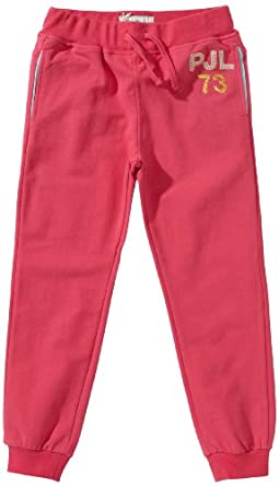Pepe Jeans Sarahs - Pantalon - Fille - Rose foncé - Pink (337 LT FUCHSIA) - FR : 4 ans (Taille fabricant : 104)