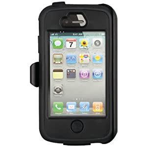 Body Glove 9313901 ToughSuit Case with Holster Belt Clip for iPhone 4