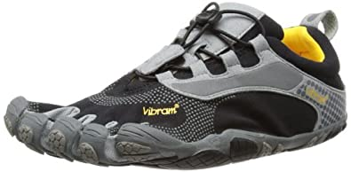 Vibram Bikila Ls Shoe - Men's Black/Gray 40 By Vibram Fivefingers