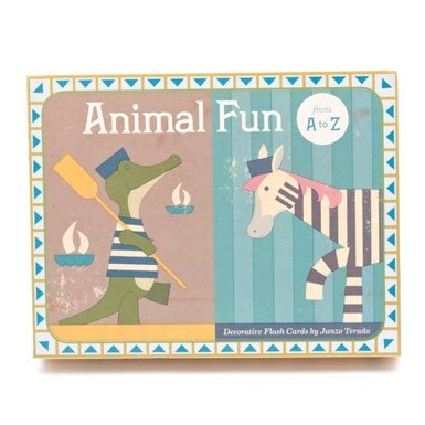 Animal Fun A-Z Flash Cards