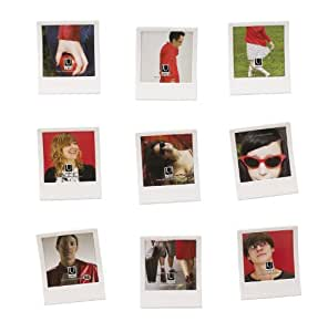 Umbra Snap 3.5-Inch-by-3.5-Inch Frame, Set of 9, White
