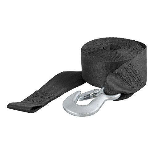 CURT 29007 2 In 20 Ft Nylon Winch Strap With Hook (Trailer Winch Cover compare prices)