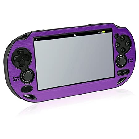 CommonByte Purple Metal Protective Aluminum Case Cover For Sony PSVita PS Vita