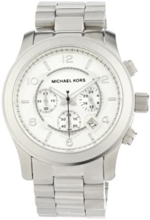 Michael Kors Men's MK8086 Runway Silver-Tone Watch