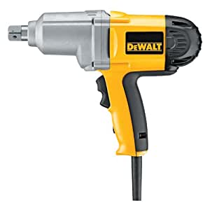 DEWALT DW294 7.5 Amp 3/4-Inch Impact Wrench with Detent Pin Anvil