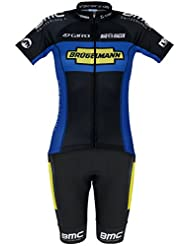 Bioracer Brügelmann Pro Team Jersey short sleeve womens Ladies Set black 2014