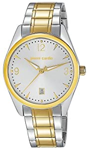 Pierre Cardin Men's Quartz Watch PC PC104731F02 with Metal Strap