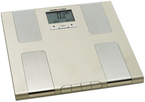 Health o Meter BFM688-81 Weight Tracking, Body Fat & Hydration Percentage Scale, Champagne, (Weighs up to 380lbs)