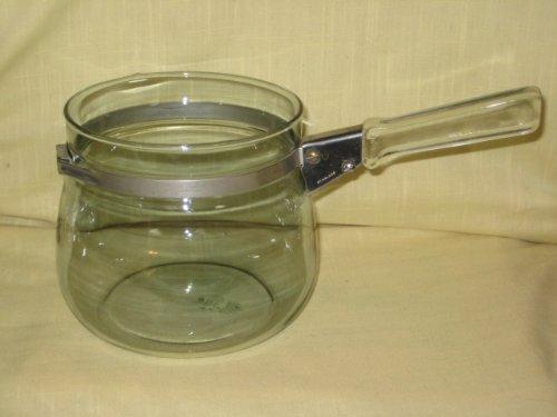 Vintage 1937-45 Pyrex Flameware 1 Quart Double Boiler Replacement Bottom 6762-L (Vintage Double Boiler compare prices)