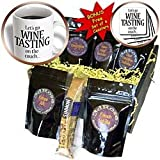 EvaDane - Funny Quotes - Lets go wine tasting on the couch. Wine Lovers. - Coffee Gift Baskets - Coffee Gift Basket