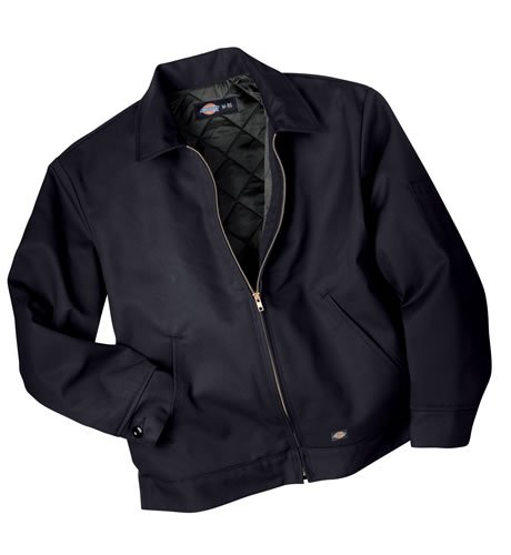 Dickies - TJ15 Lined Eisenhower Jacket, Size: 2X-Large x Long, Color: Dark Navy