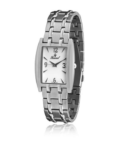 Bassel Reloj con movimiento cuarzo suizo CR2063 Plateado 32  mm