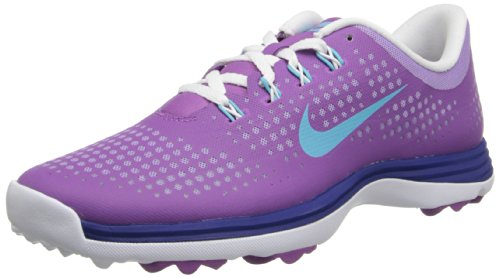 Nike Golf women's Lunar Empress Golf Shoe,Violet Shade/Polarized Blue/Deep Royal Blue,9 M US