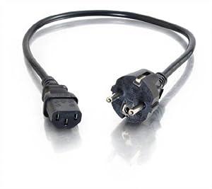 Cables To Go Câble d'alimentation universel 1 m