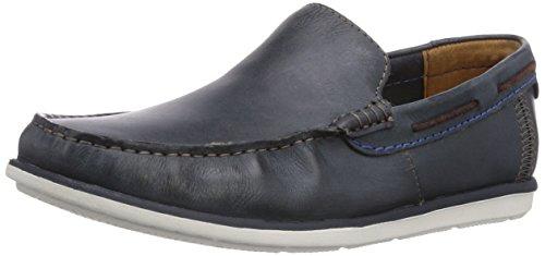 Clarks Kelan Lane, Scarpe da barca uomo, Blu (Blau (Navy Leather)), 43