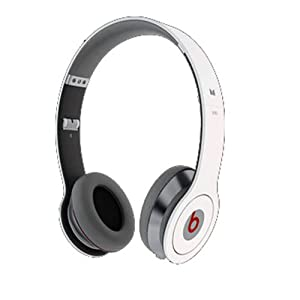 Beats Solo by Dr. Dre On-Ear Headphones with ControlTalk (White)
