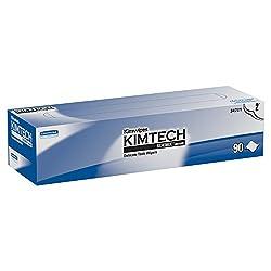 Kimberly-Clark Kimtech Science 34721 Kimwipes Delicate Task Disposable Wiper, 16-19/32