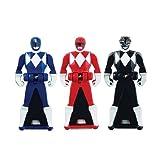 Power Rangers Mighty Morphin Legendary Ranger Key Pack A Red/Blue/Black