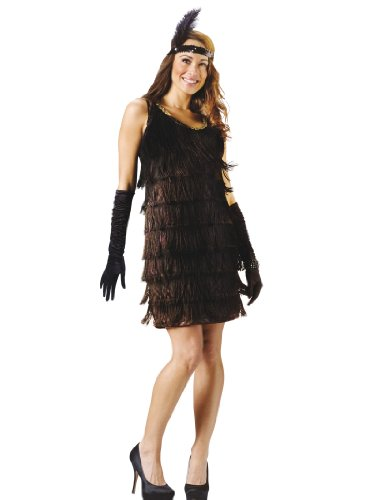 Flapper Costume Dress 1920's Party Short Cut Sexy Womens Theatrical Costume