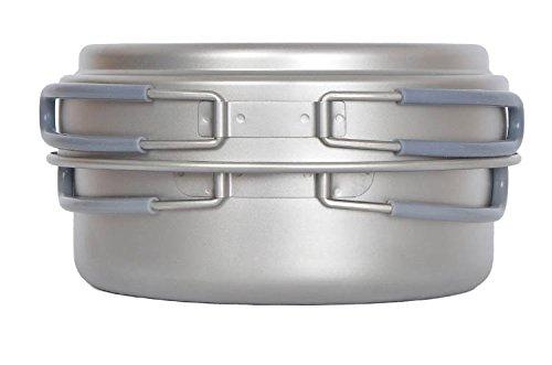 Titanium Pot Camping Cookware Titanium Cookware 191G front-423617