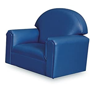World World Vinyl Upholstered Toddler Chair by Brand New World