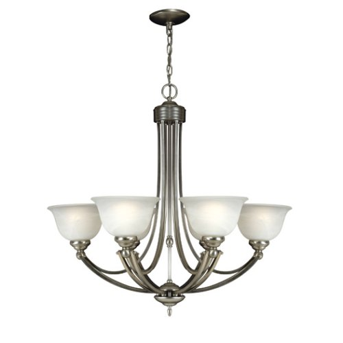 B000J1479K Quoizel DY5072ES Delray 6 Light Chandelier