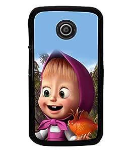 printtech Kid Back Case Cover for Motorola Moto E2::Motorola Moto E (2nd Gen)