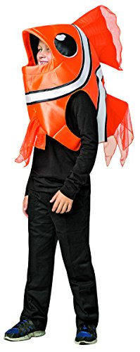Rasta Imposta 7-10 Clown Fish Costume