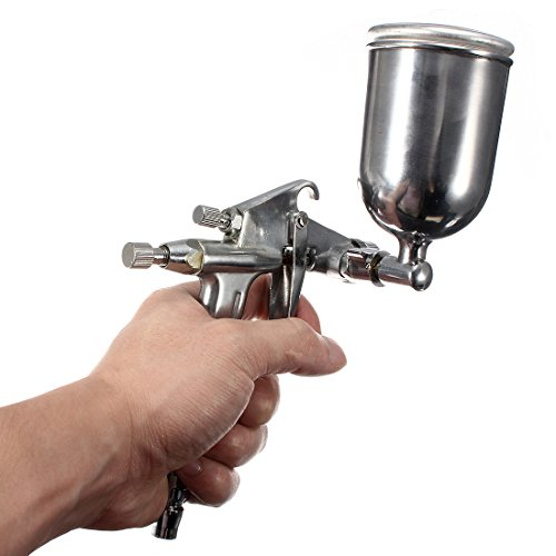 0.5Mm Hvlp K3 Gravity Feed Air Spray Gun Sprayer Alloy Painting Tool