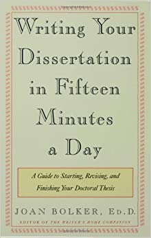 Dissertation writing assistance 15 minutes a day