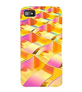 printtech Abstract Design Back Case Cover for BlackBerry Z10