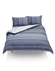 Checked Easy Care Bedset