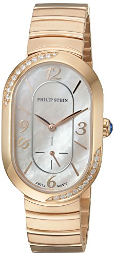 Philip-Stein-Womens-Modern-Swiss-Quartz-Stainless-Steel-Dress-Watch-ColorRose-Gold-Toned-Model-74SDRGP-FRGMOP-MSSRGP