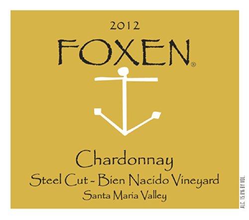 Foxen 2012 Chardonnay Steel Cut - Bien Nacido Vineyard