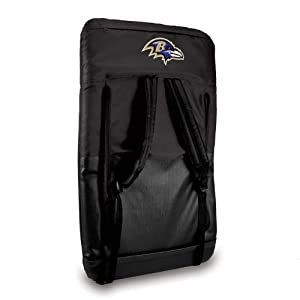 Nfl Baltimore Ravens Portable Ventura Reclining Seat by Picnic Time
