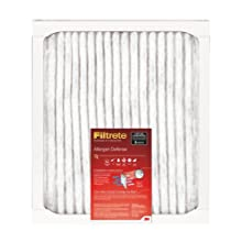 Filtrete Allergen Defense Filter, 12-Inch by 12-Inch by 1-Inch, 6-Pack