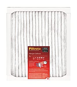 Filtrete Allergen Defense Filter, 16-Inch by 25-Inch by 1-Inch, 6-Pack