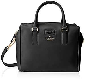 kate spade new york Kay Lane Julianna Top Handle Bag, Black, One Size