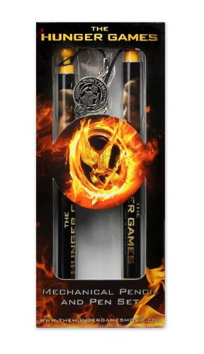 The Hunger Games Movie - Pen and Mechanical Pencil set