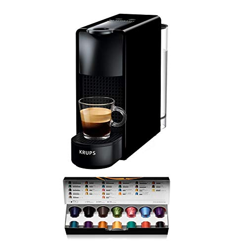 Cafetera monodosis de c/ápsulas Nespresso color gris antracita recetas ajustables Nespresso Krups Expert XN6008 19 bares controlable con smartphone mediante bluetooth apagado autom/ático
