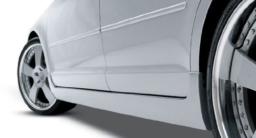 3dCarbon 2006-2009 FUSION Left Side Skirt (painted: Medium Parchment - Interior - 8H)