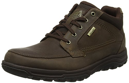 RockportTrail Technique Waterproof - Stivaletti uomo, Marrone (Braun (DK BROWN)), 40.5