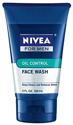 Cheapest Nivea For Men, Oil Control Face Wash, 5 Fl. Oz., Pack of 3 by Nivea - Free Shipping Available