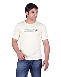 Martin Smith Lemon Round Neck T- Shirt For Men