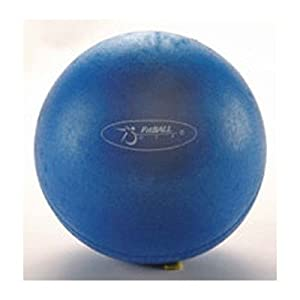 FitBall Mini Exercise Ball FBMINI 9&quot; Dark Blue