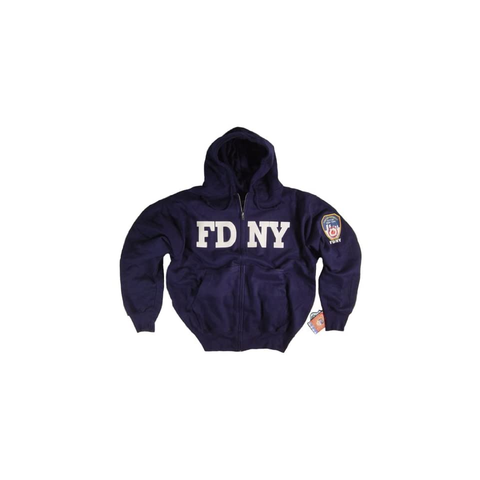 91f88f8e FDNY Shirt Hoodie Sweatshirt Authentic Clothing Apparel Officially Licensed  Merchandise by The New York City Fire Department Zippered