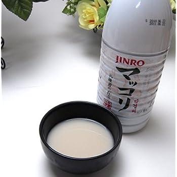 JINRO(眞露) マッコリ1000ml×15本 1ケース