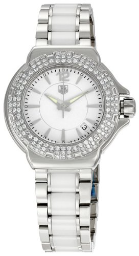 TAG Heuer Women's WAH1215BA0861 Formula 1 White Dial Watch