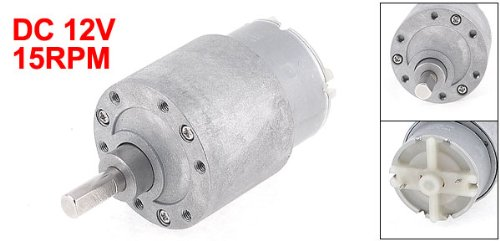 12vdc 15rpm high torque powerful gear box electric motor for Measuring electric motor torque